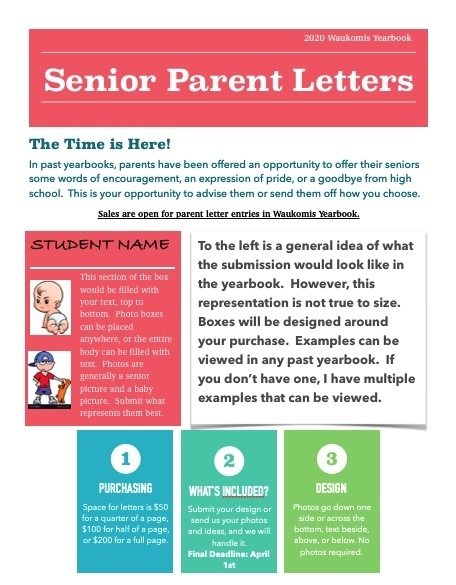 Senior Parent Letters 2020